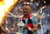 """P.Guardiola įsitikinęs, kad V.Kompany lemta sugrįžti į """"Manchester City"""""""