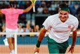 """Naujas R.Federerio pasiūlymas sulaukė nemažai palaikymo: """"Laikas sujungti ATP ir WTA"""""""
