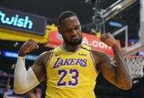 """2010 metais L.Jamesą labiausiai domino persikelti į """"Knicks"""" komandą"""