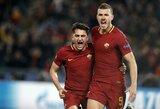 """Čempionų lyga: namuose laimėję """"Roma"""" futbolininkai prasibrovė į ketvirtfinalį"""