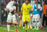 """Nuostabus įvartis papuošė """"Marseille"""" pergalę prieš """"Juventus"""", Helsinkyje laimėjo """"Liverpool"""""""