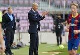 """""""El Clasico"""" derbyje pergalę pasiekęs Z.Zidane'as: """"Didžiuojuosi savo komanda"""""""