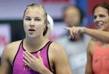 R.Meilutytė jau pasaulio čempionato atrankoje akis į akį susidurs su J.Jefimova