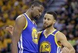 """""""Warriors"""" tandemas jau pretenduoja į NBA finalo MVP"""