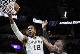 """""""Spurs"""" po atkaklios kovos įveikė """"Heat"""""""