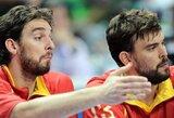 "M.Gasolis: kartu su ""Grizzlies"" bandysime prisivilioti Pau"