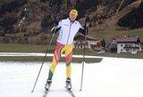 Pasaulio jaunimo biatlono taurės etape Italijoje geriausiai tarp lietuvių sekėsi R.Aleksandrovui