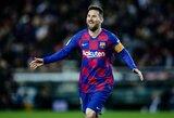 L.Messi pakartojo C.Ronaldo priklausantį rekordą