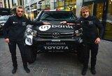 """Prieš Dakarą – """"Inbank team Pitlane"""" apsilankymas """"Formulės 1"""" trasoje"""