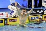 Olimpinį čempioną aplenkęs D.Rapšys FINA Čempionų lygos finale nusileido tik Kinijos žvaigždei (papildyta)