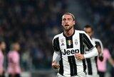 """Buvęs """"Juventus"""" saugas C.Marchisio paskelbė apie karjeros pabaigą"""