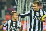 """Turino derbyje savo pranašumą įrodė """"Juventus"""""""