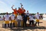 Baltijos galiūnų čempionatą Telšiuose laimėjo latvis