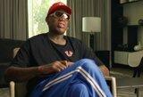 D.Rodmanas pasakė, ką rinktųsi –S.Pippeną ar L.Jamesą