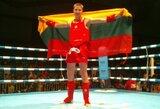 M.Jasiūnas užsitikrino pasaulio Muay Thai čempionato sidabro medalį