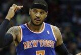 """""""Lakers"""" ir """"Knicks"""" klubai gali atlikti mainus, po kurių C.Anthony persikeltų į Los Andželą"""