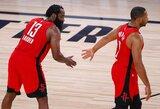 """""""Rockets"""" pergalingą spurtą surengė be J.Hardeno"""