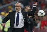 """V.Del Bosque: """"Norėjome dominuoti ir ilgiau kontroliuoti kamuolį"""""""