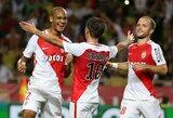 """Prancūzijos grandų dvikovoje """"Monaco"""" paguldė ant menčių PSG klubą"""