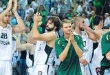 Lietuva antrąkart pranoko Belgijos krepšininkus