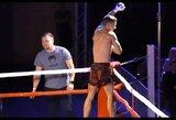 """Pamatykite: T.Markus MMA kovoje Liepojoje """"užsmaugė"""" latvį"""