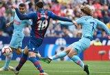 """Dešimtyje rungtyniauti likęs """"Atletico"""" sezoną """"La Ligoje"""" užbaigė lygiosiomis su """"Levante"""""""