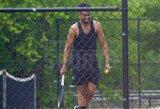 COVID-19 užsikrėtęs NBA krepšininkas užfiksuotas žaidžiantis tenisą