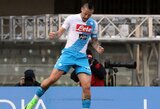 """M.Hamšikas pavijo D.Maradoną ir dalinasi su juo """"Napoli"""" rezultatyvumo rekordu"""
