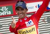 "A.Contadoras trečią kartą tapo ""Vuelta a Espana"" dviračių lenktynių čempionu"