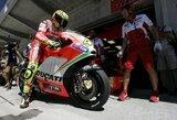 V.Rossi Indianapolio motociklų GP kvalifikacijoje tikėjosi pasirodyti geriau