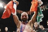 Kovoje be pirštinių buvęs UFC kovotojas A.Lobovas palaužė buvusį pasaulio bokso čempioną P.Malignaggi