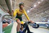 V.Šumskytė Europos jaunių ir jaunimo dviračių treko čempionate – 11-a