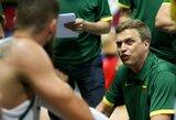 D.Adomaitis rungtynėms su Latvija nusprendė registruoti visus žaidėjus