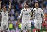 C.Ronaldo džiaugėsi pelnyta pergale, S.Ramosas davė atsaką G.Pique