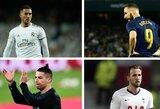 TOP-10: sėkmingiausiai vienuolikos metrų baudinius realizuojančios futbolo žvaigždės