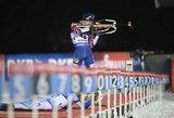 Pasaulio biatlono taurės etape Švedijoje geriausiai tarp lietuvių sekėsi T.Kaukėnui
