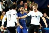 """Čempionų lyga: D.Wassas įspūdingu šūviu išplėšė """"Valencia"""" lygiąsias su """"Chelsea"""""""