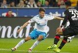 """Schalke"" talentui plyšo kryžminiai kelio raiščiai"