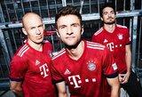 """Pamatykite: Vokietijos """"Bundesliga"""" komandų kito sezono uniformos"""