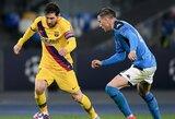 """Oficialu: Čempionų lygos mūšis tarp """"Barcelona"""" ir """"Napoli"""" vyks už uždarų durų"""