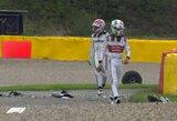 """D.Ricciardo paskutiniame rate atėmė iš L.Hamiltono """"Grand Slam"""" rezultatą, A.Giovinazzi ir G.Russellas pateko į avariją"""