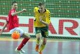 """Lietuvos futsal rinktinės lyderis J.Jeremejevas: """"Futsalas – man ir darbas, ir hobis"""""""
