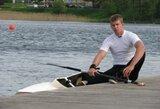 Pasaulio jaunimo čempionas H.Žustautas Trakuose iškovojo net keturis aukso medalius