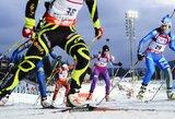 Biatlono Pasaulio taurėje lietuvės įskaitinių taškų nepelnė