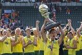 Pasaulio žolės riedulio čempionatuose – australų ir olandžių triumfas