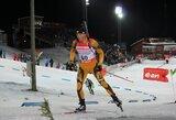 Aštuntame pasaulio biatlono taurės etape – T.Kaukėno ir K.Dombrovskio rekordai (komentarai)
