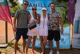 Karščiausią vasaros savaitgalį pliažą į teniso kortą iškeitusi G.Gurevičiūtė laimėjo auksą