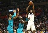 """""""Clippers"""" dešimt metų namie nepralaimi prieš """"Hornets"""""""