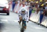"""Atskiro starto lenktynių specialistas T.Martinas laimėjo dvidešimtąjį """"Tour de France"""" etapą"""