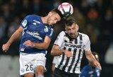"""""""Angers"""" per pridėtą rungtynių laiką išplėšė lygiąsias su """"Strasbourg"""""""